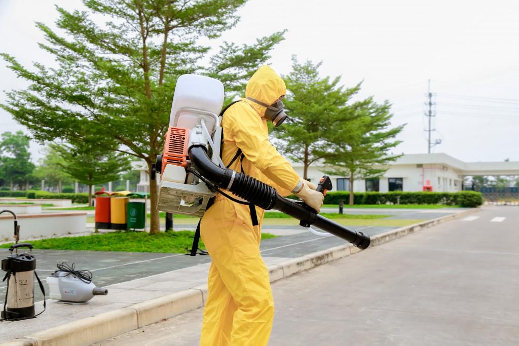 Dịch vụ diệt muỗi tại khu đô thị