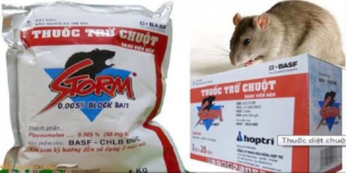 thuốc diệt chuột cống